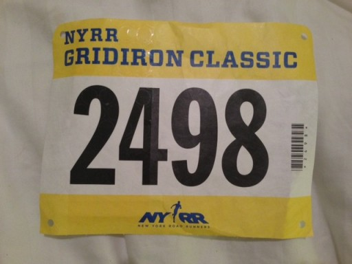 Don't hate me, unused running bib.