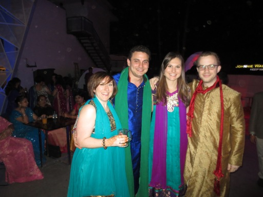And experienced my first Indian-wedding-caliber hangover.